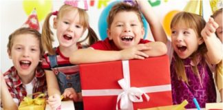 küçük çocuklara hediye
