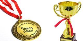 kişiye özel madalya ve ödüller