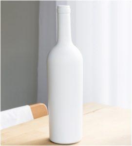 el emeği dekoratif şişe vazo yapımı