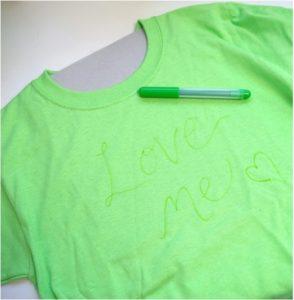 sevgiliye hediye el yapımı tişört