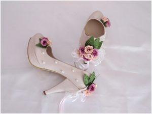 el yapımı nişan ayakkabısı