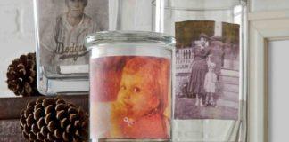 el yapımı resimli vazo