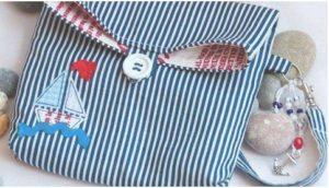 gömlekten el çantası yapımı