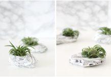dekoratif bitki kabı nasıl yapılır
