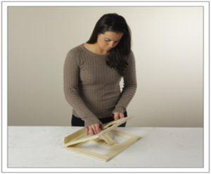 el yapımı kitap standı