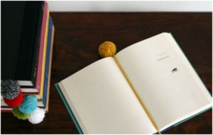 ponpon kitap ayracı