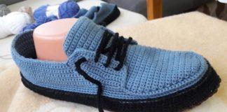 terlikten ayakkabı yapılışı