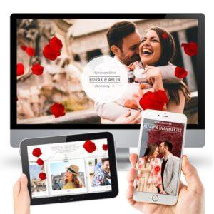 sevgiliye web sitesi örnekleri