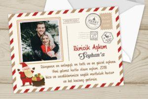 yılbaşı kartpostalları