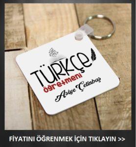 türkçe öğretmenine özel hediye