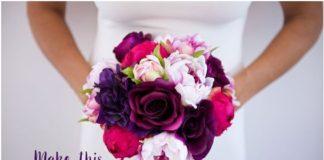 el yapımı düğün çiçeği