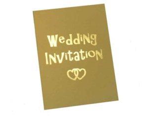 el yapımı düğün davetiyesi