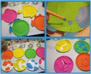 kağıttan dekoratif süs yapımı