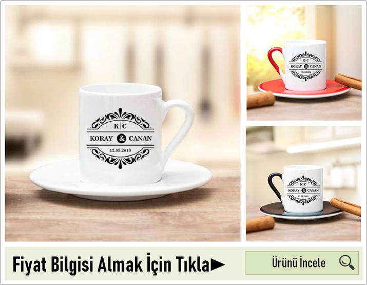 kişiye özel kahve fincanı