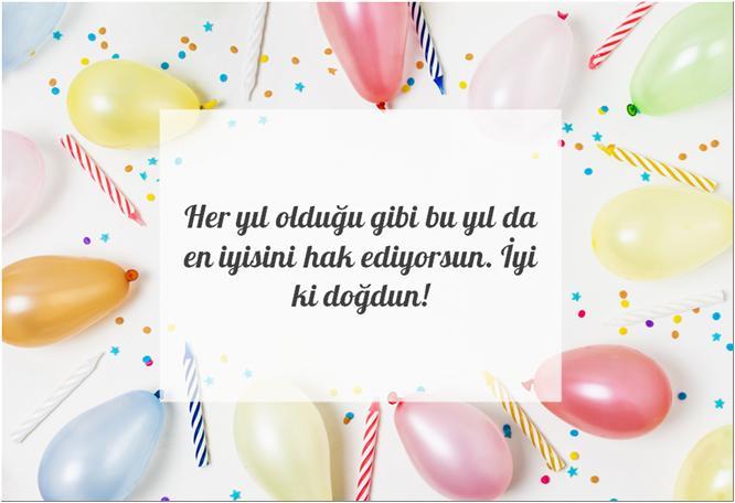 kısa doğum günü mesajları