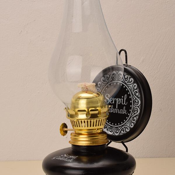 kişiye özel nostaljik gaz lambası